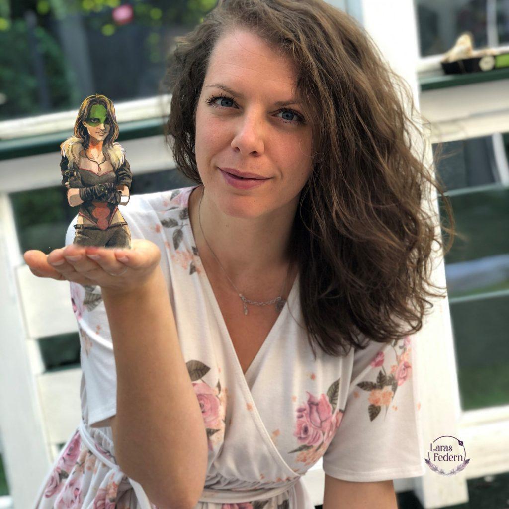 Lara mit Emilia